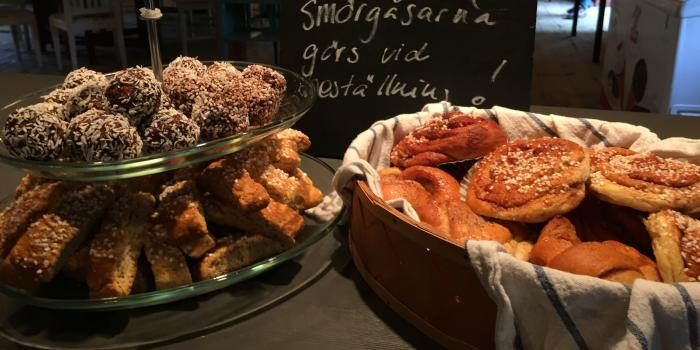 Cafe Magasinet på Tofta Herrgård